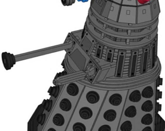 Dalek 3D Puzzle/Model