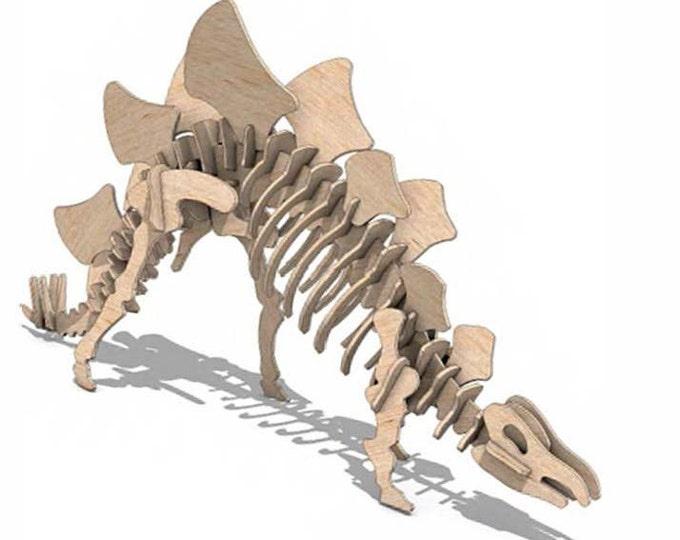 Stegosaurus 3D Puzzle/Model