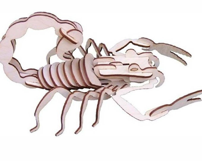 Scorpian 3D Puzzle/Model