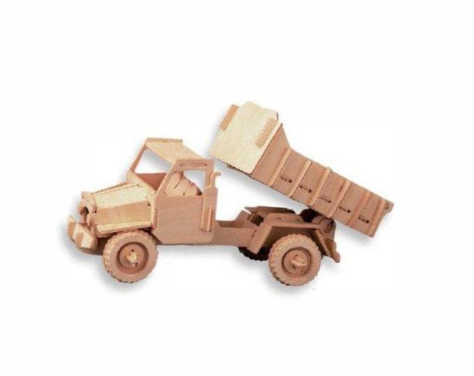 Dump Truck 3D Puzzle/Model