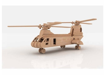 Chinook Helicopter 3D Puzzle/Model