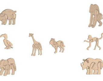 Kids Model 3D Puzzle/Model
