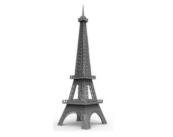 Eiffel Tower 3D Puzzle/Model