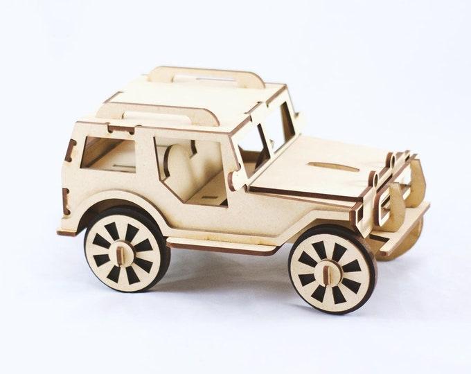 Jeep 3D Puzzle/Model