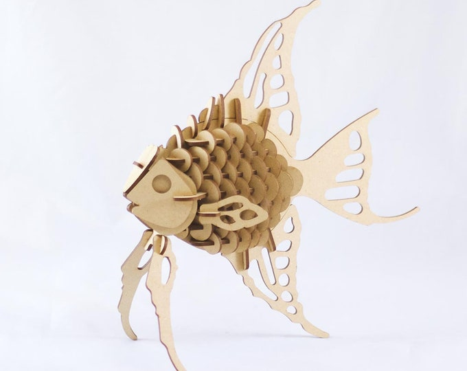 Angel Fish 3D Puzzle/Model
