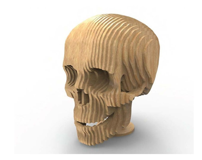 Skull 3D Puzzle/Model