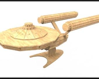 Enterprise (Star Trek Inspired) 3D Puzzle/Model