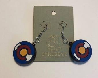 Colorado Flag Earrings