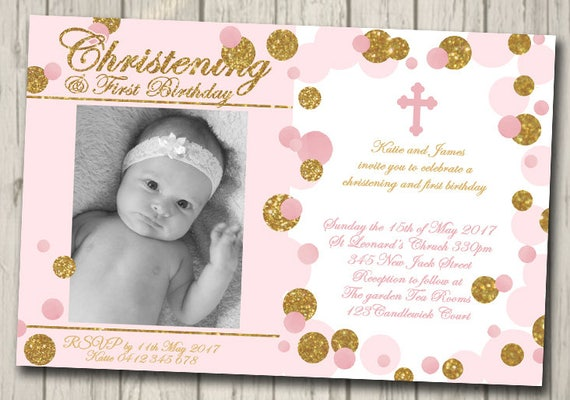 Christening baptism or first birthday invitation naming day etsy image 0 filmwisefo
