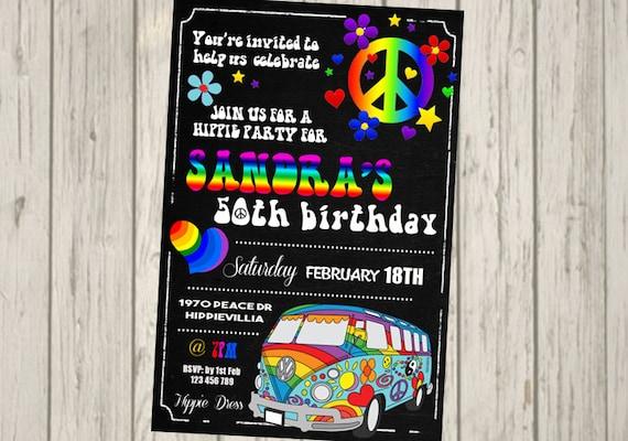 10 X Anniversaire Personnalisé 18ème 21ème 30ème invitations 40e 50e partie invite