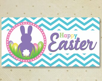Easter Treat Bags Toppers - Printable Easter Treat Bags Toppers - Easter Favor Candy Bag Toppers - Easter Treat Bag Tops