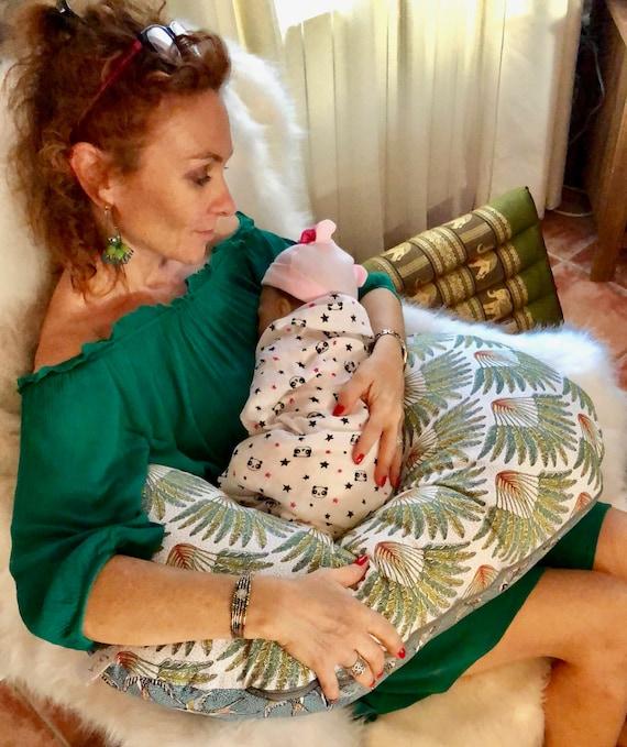 Maternity cushion, nursing cushion, Boppy cushion, birth cushion, mother's future cushion, baby cushion, birth gift