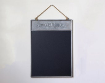 Old Fashioned Kitchen Chalkboard,Modern Chic Family,Kitchen Chalkboard,  Kitchen Decor,Blackboard, Farmhouse Decor,Gift For Chef