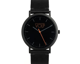 Watch VOLP Autentic black luxe - black vegan