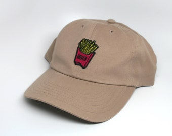 cd915d141b3 French Fry Dad Hat Khaki