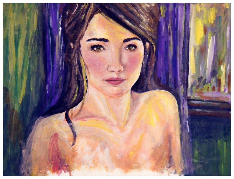 original female figurative paintings, woman art prints, erotic prints,  female nudity, sexy bedroom art, sexy artwork, bedroom decor