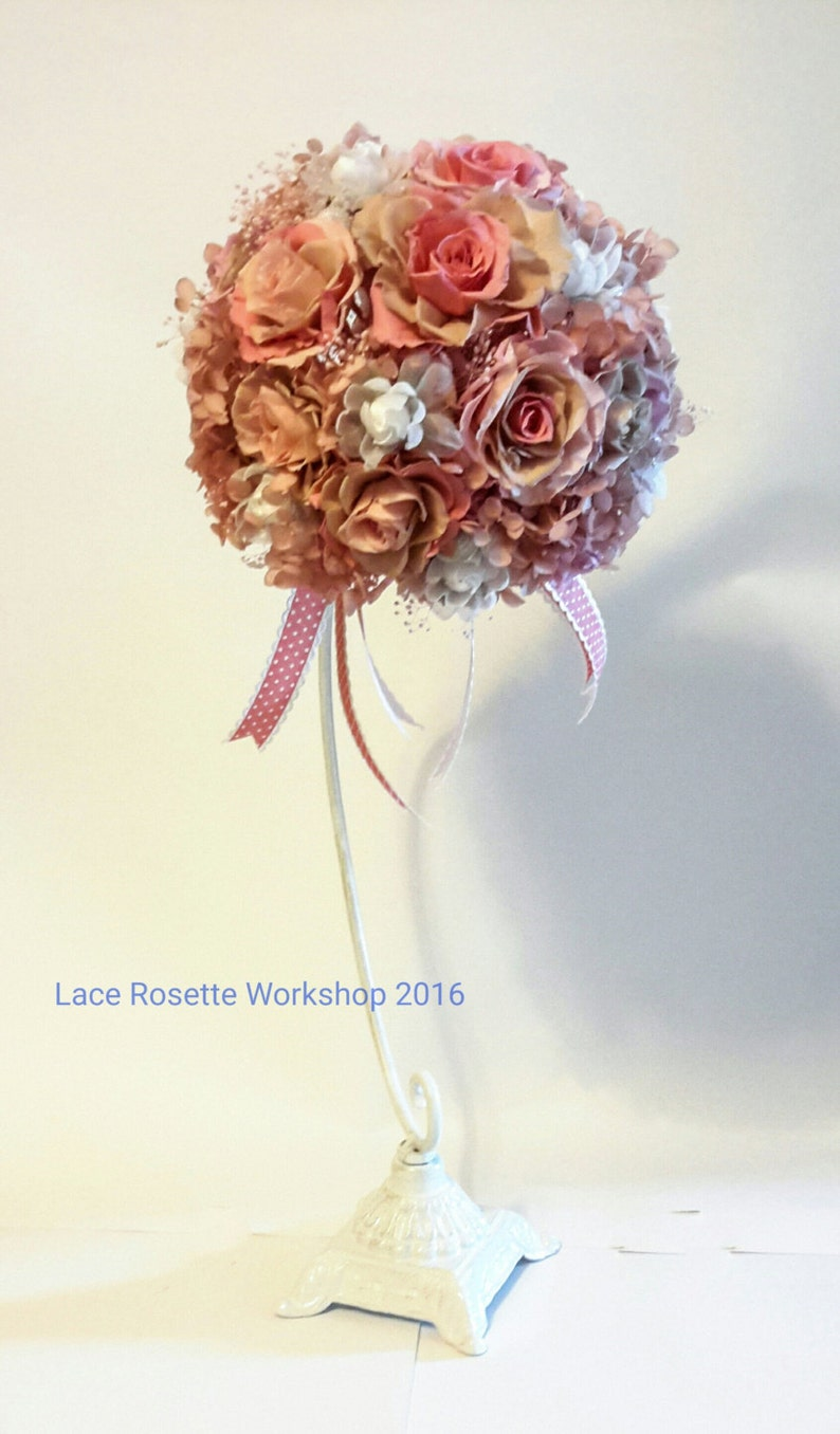 Preserved Flower wedding bouquet stand excluded