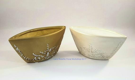 Pot en céramique pour l'Arrangement Floral - matières premières - LR006