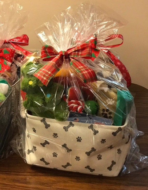 Custom Dogcat Gift Baskets For Any And All Occasions Etsy
