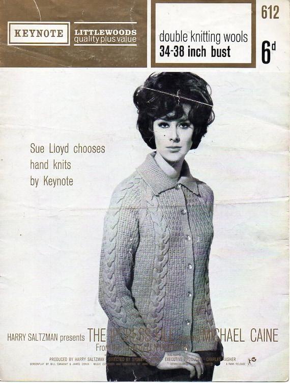 ee8295dba16638 Womens jacket knitting pattern pdf ladies collared jacket