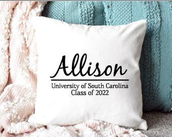 dorm room pillows etsy