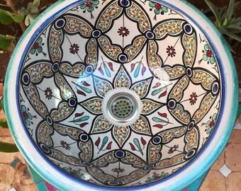 OFFERED LIVRAISON - Hand Lava - FES Terracotta Gothsk - fully handmade