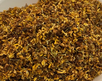 Organic Dried Osmanthus, Osmanthus Tea, DIY Dried Osmanthus for Soap Candle Making, WoodWell® Etsy Shop