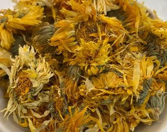 Organic Dried Calendula, Calendula Tea, DIY Dried Calendula, WoodWell® Etsy Shop