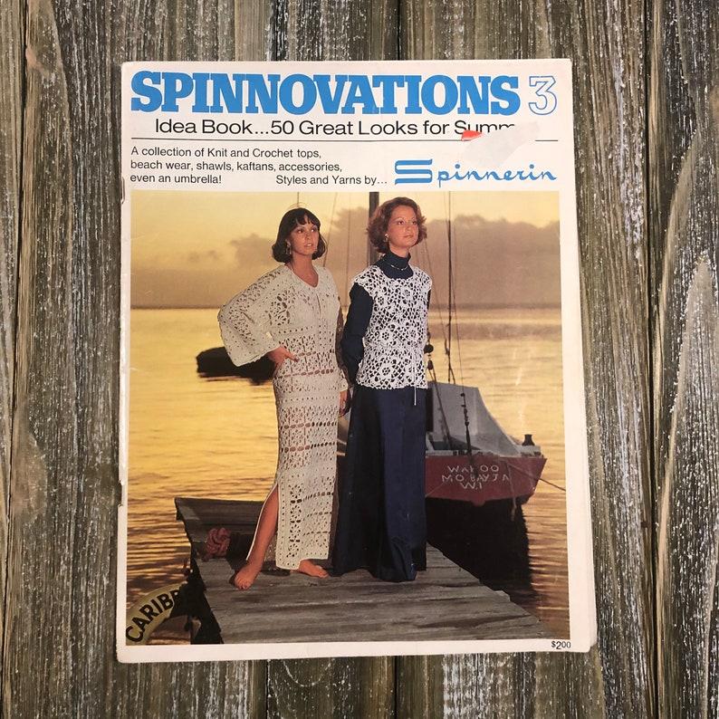 Spinnerin Magazine Spinnovations 3  Vintage Knit Magazine image 0