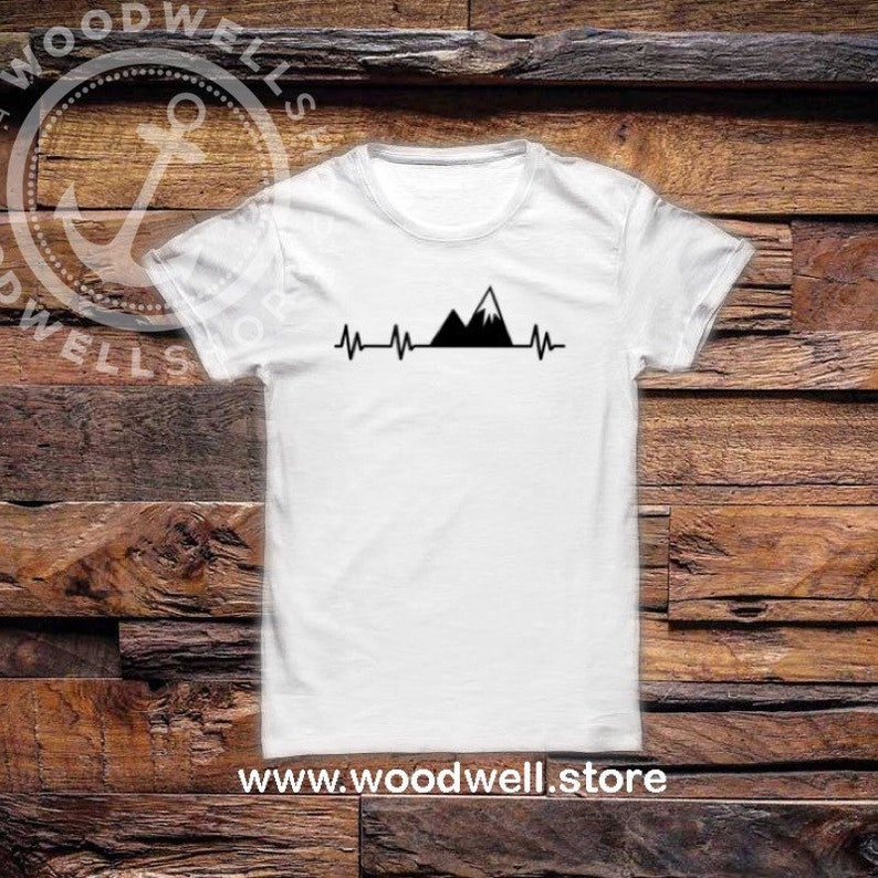Camping Shirt Camp Tee Adventure Shirt Fire Place Shirt image 0