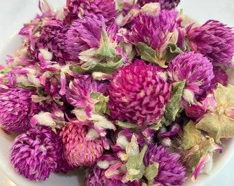 Globe Amaranth, Globe Amaranth Flowers, DIY Dried Globe Amaranth, WoodWell® Etsy Shop
