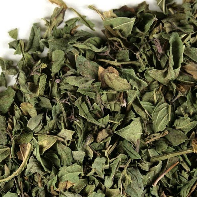 Organic Dried Peppermint Leaves Edible Peppermint Leaves  image 0