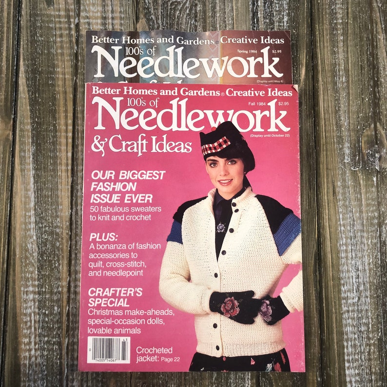 Needlework Better Homes and Gardens Spring  Fall 1984 image 0