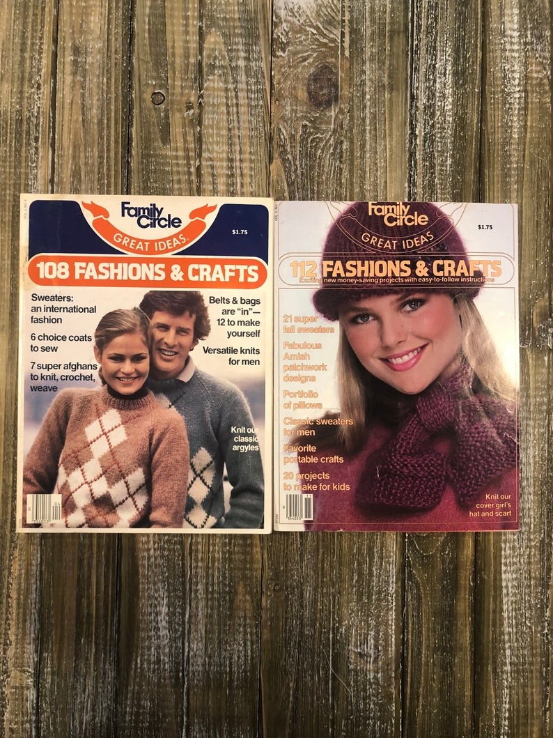 Family Circle Great Ideas Magazines Fashion and Crafts image 0