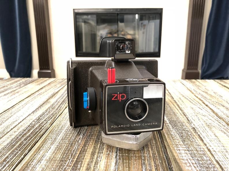 Vintage ZIP Polaroid Land Camera Land Camera Polaroid image 0
