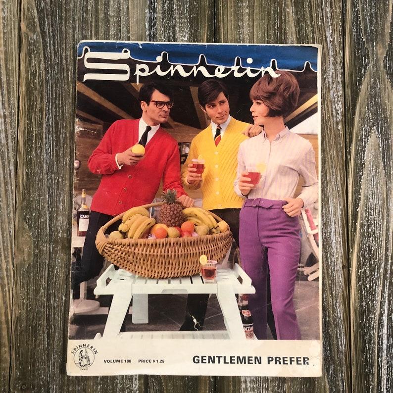 Spinnerin Magazine Vintage Knit Magazine Volume 180 image 0
