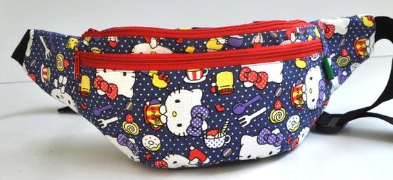 Fanny Pack Hello Kitty hip bagbum bagwaist bagbelt baghip  ceaaf6ef4e3ad