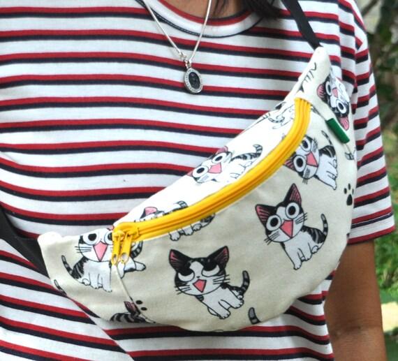 Fanny Pack 4 kids Cats bum bagwaist bagbelt baghip  ddad6ca4a7326