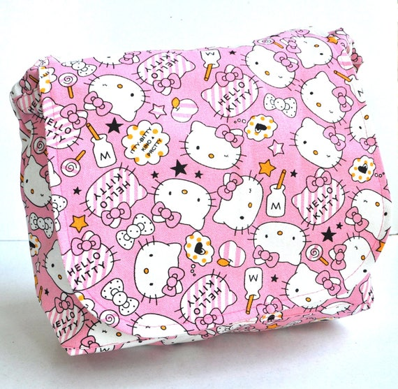 Messenger bag Hello Kitty school bag travel bag holiday  b2a428d760d05