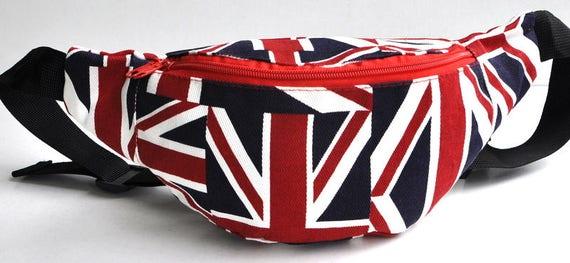 Fanny Pack 4 kids Union Jack bum bagwaist bagbelt  5940851572f27