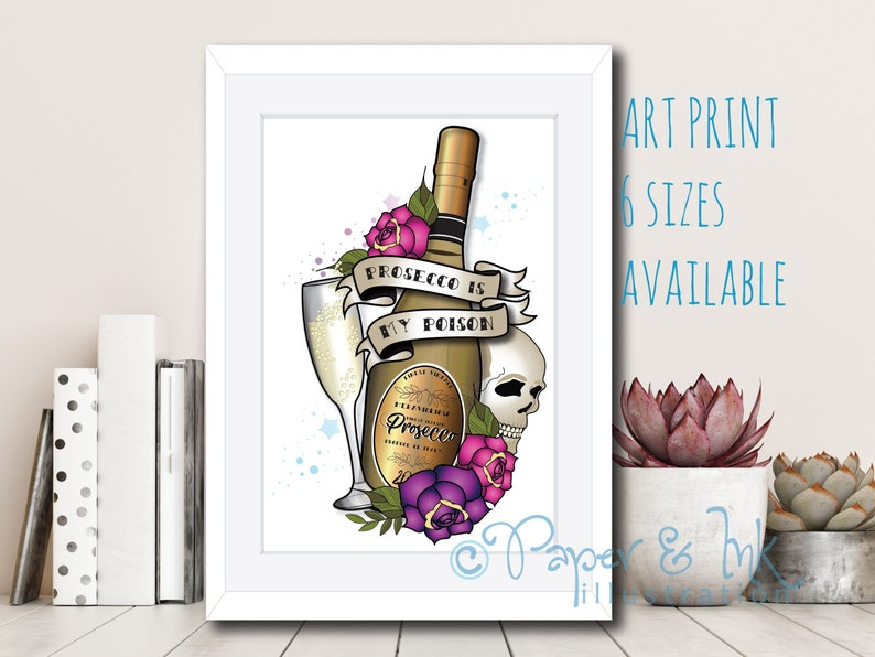FUNNY Birthday Card wine lover drinker Best friend girl female woman prosecco