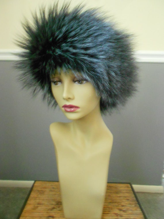 Fox Fur Headband / Fox Earmuffs