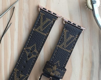 louis Vuitton watch band   , watch band 42 mm , apple watch band 38 mm ,Lv apple watch band