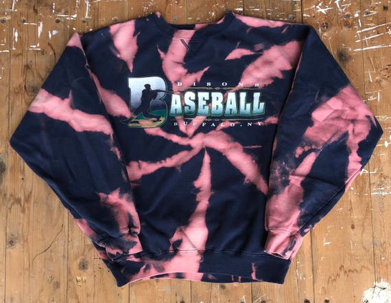 Vintage Buffalo Bisons Bleached Sweatshirt
