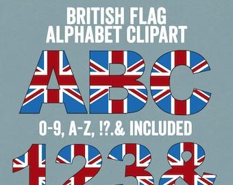 british flag alphabet clipart british letters clip art abc britain party clipart commercial use british themed alphabet letters clip art