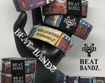Beat Bandz Reversible and Collectible Fun Fashion Wrist Band - Enlighten Yourself - book design
