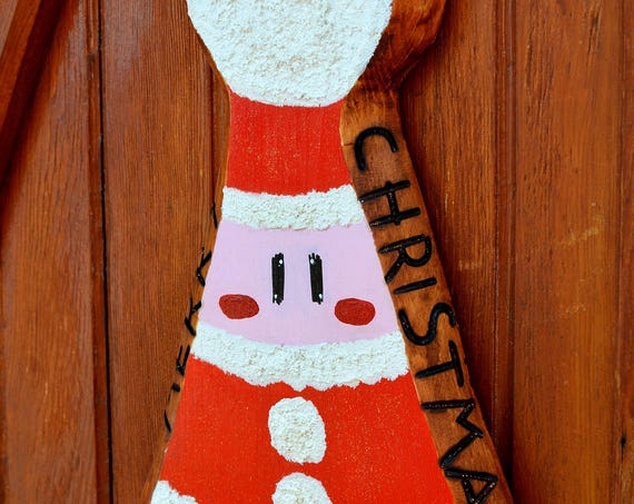 Merry Christmas  wooden decoration.