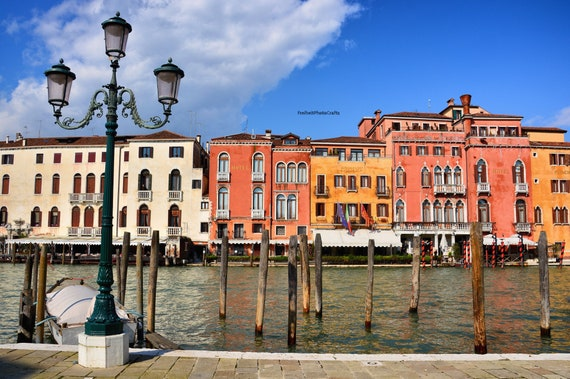 Grand Canal photographic prints.