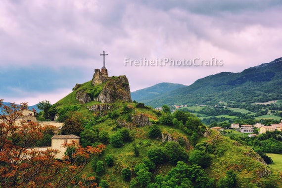 "Travel,Italy-""Rocca di Pennabilli"" photographic prints."