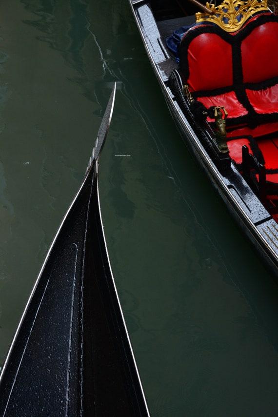 Gondola gondoletta photographic print.